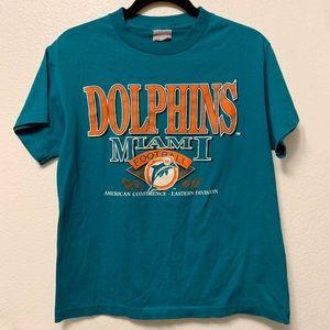 c79b4297 Vintage Miami Dolphins Football Shirt